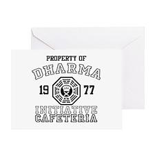 Dharma Initiative - Cafeteria Greeting Card