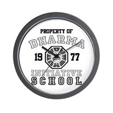Dharma Initiative - School Wall Clock