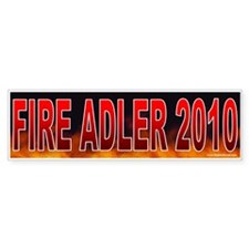 Fire John Adler! (sticker)