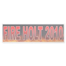 Fire Rush Holt! (sticker)