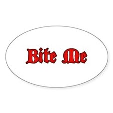 Bite Me Decal