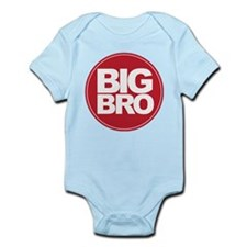 big brother simple circle shirt Onesie
