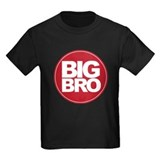 big brother simple circle shirt T