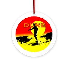 Duke Ornament (Round)