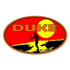 Duke Oval Decal