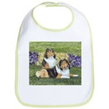 Sheltie Pair Bib