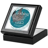&amp;quot;Being Fulfilled&amp;quot; Light Keepsake Box
