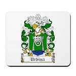 Urbina Coat of Arms Mousepad