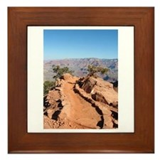 Grand Canyon Trail Framed Tile