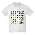 49 Hen Breeds Kids Light T-Shirt