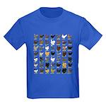 49 Hen Breeds Kids Dark T-Shirt