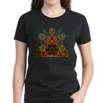 SOLOMON'S MAGIC PENTACLES Women's Dark T-Shirt