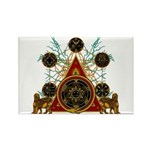 SOLOMON'S MAGIC PENTACLES Rectangle Magnet