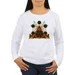 SOLOMON'S MAGIC PENTACLES Women's Long Sleeve T-Sh