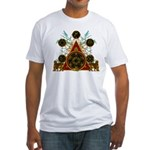 SOLOMON'S MAGIC PENTACLES Fitted T-Shirt