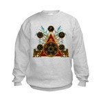 SOLOMON'S MAGIC PENTACLES Kids Sweatshirt