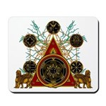 SOLOMON'S MAGIC PENTACLES Mousepad