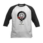 Pitcairn Clan Crest Badge Kids Baseball Jersey