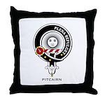 Pitcairn Clan Crest Badge Throw Pillow