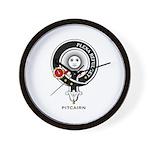 Pitcairn Clan Crest Badge Wall Clock