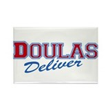 Doulas Deliver Rectangle Magnet