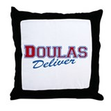 Doulas Deliver Throw Pillow