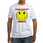 Can't Stop Smiling Fitted T-Shirt