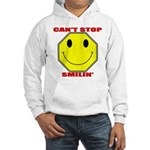 Can't Stop Smiling Hooded Sweatshirt