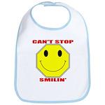 Can't Stop Smiling Bib
