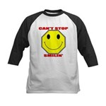 Can't Stop Smiling Kids Baseball Jersey