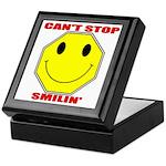 Can't Stop Smiling Keepsake Box