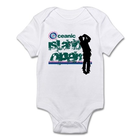 Oceanic Island Open Infant Bodysuit