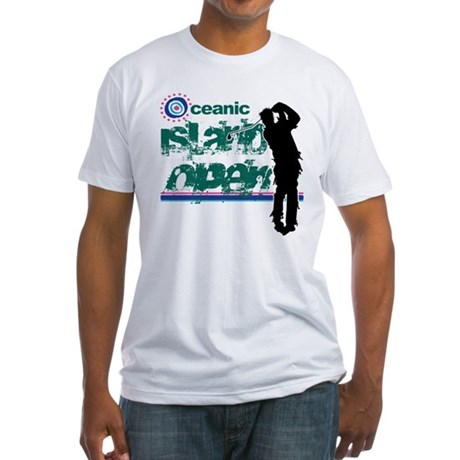 Oceanic Island Open Fitted T-Shirt