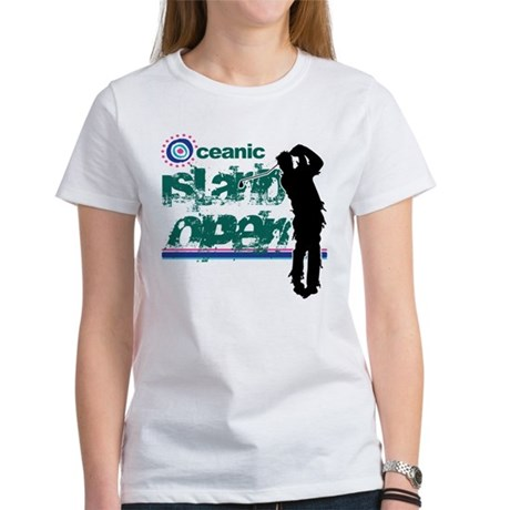 Oceanic Island Open Womens T-Shirt