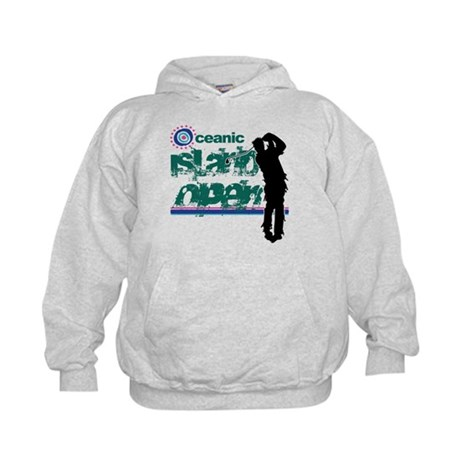 Oceanic Island Open Kids Hoodie