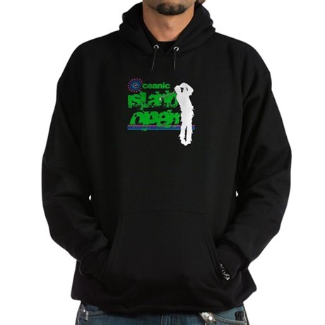 Oceanic Island Open Black Dark Hoodie