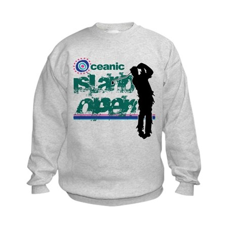 Oceanic Island Open Kids Sweatshirt