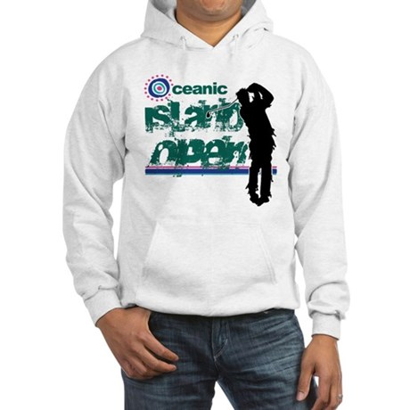 Oceanic Island Open Hooded Sweatshirt