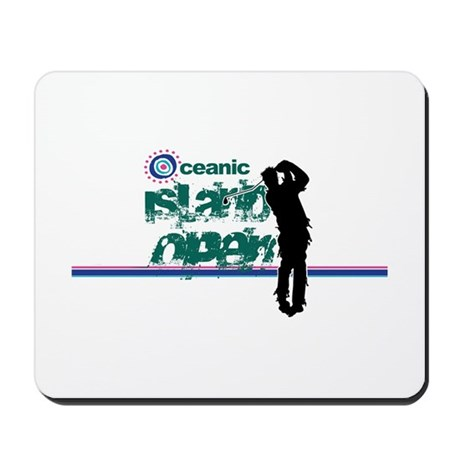 Oceanic Island Open Mousepad