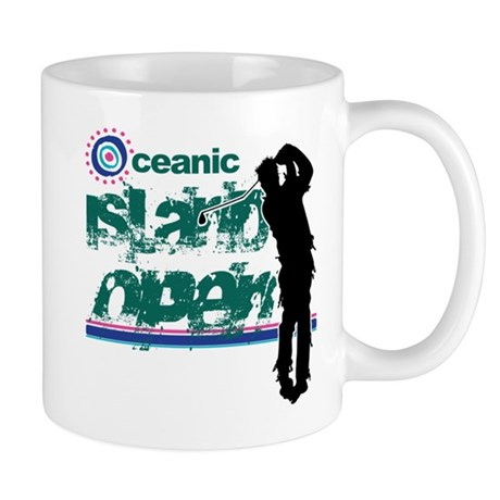 Oceanic Island Open Mug