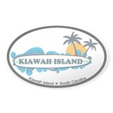 Kiawah Island SC - Surf Design Decal