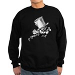 Mad Hatter Striding Right Sweatshirt (dark)