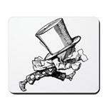 Mad Hatter Striding Right Mousepad