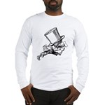 Mad Hatter Striding Right Long Sleeve T-Shirt