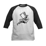 Mad Hatter Striding Right Kids Baseball Jersey