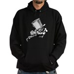 Mad Hatter Striding Right Hoodie (dark)