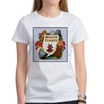 Domestic Flights Scroll Women's T-Shirt