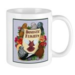 Domestic Flights Scroll Mug