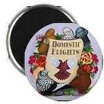 Domestic Flights Scroll Magnet
