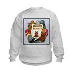 Domestic Flights Scroll Kids Sweatshirt